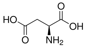 水中L-天门冬氨酸溶液,100μg/mL
