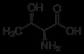 水中L-苏氨酸溶液,100μg/mL