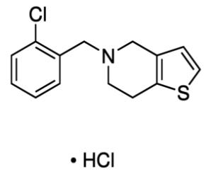 噻氯匹定盐酸盐